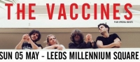 Gig Review: The Vaccines @ Millennium Square Leeds - 'YORKSHIRE, YORKSHIRE, YORKSHIRE'